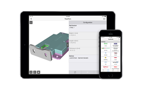 TraceParts Mobile App