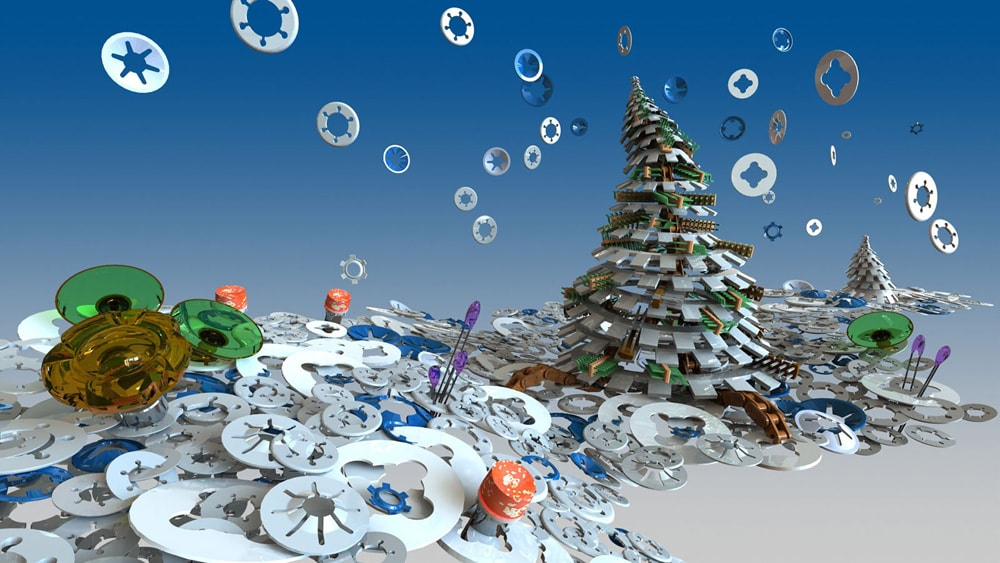 TraceParts Announces its Seventh Christmas Tree Design Contest