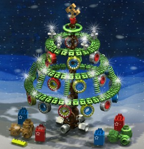 The winning Tree of the Xmas Tree Design Contest 2011