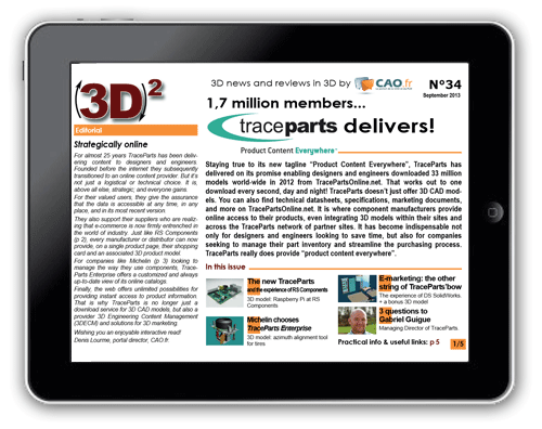 (3D)² is the first publication dedicated to 3D work