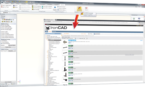 CAD-Library-for-IronCAD