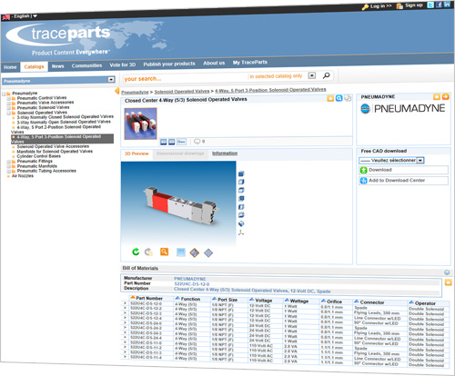 Pneumadyne Increases Product Exposure Six Fold with TracePartsonline.net