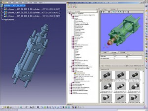 TraceParts delivers to CATIA V5 users more than 25 million parts directly accessible from DS 3d PLM solutions