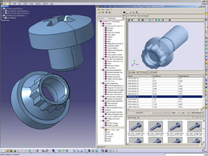 TraceParts for CATIA Interface - Aerospace standards