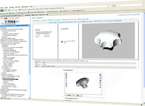 availability of the native T-Flex format in the TraceParts CAD Parts Library