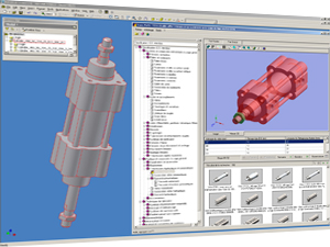 TraceParts for Inventor Interface