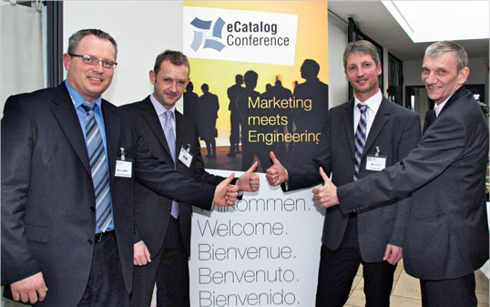 Strong partners at the 3rd eCatalog Conference: TraceParts, KiM, Crossbase, Plan Software