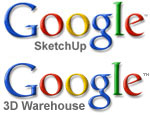 Google SketchUp - Google 3D Warehouse logo