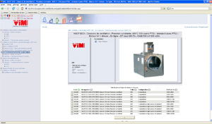 CAD models of VIM ventilation systems