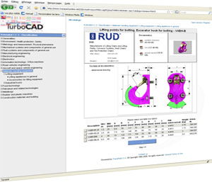 TurboCAD is offering free and unlimited access to its own online version of the TraceParts 3D library