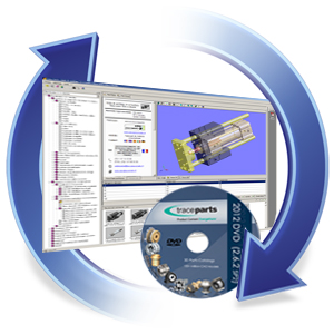 Application and CAD drivers updates for latest TraceParts releases (except parts catalogs)