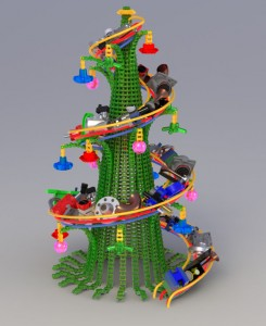 The winner of the Xmas Tree Design Contest 2009