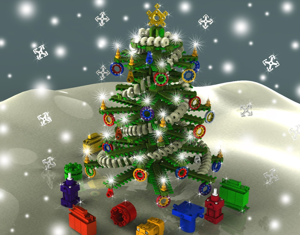 Results of Christmas Tree Design Contest 2013