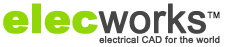 elecworks logo electrical cad for the world