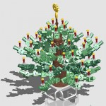 Xmas Tree Design Contest : first place