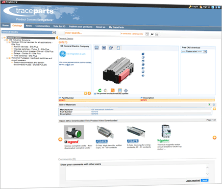 Ge industrial solutions chose traceparts to publish its 3d 3d drawing software free download