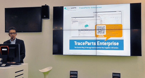 TraceParts launched during the fair a brand new software named TraceParts Enterprise