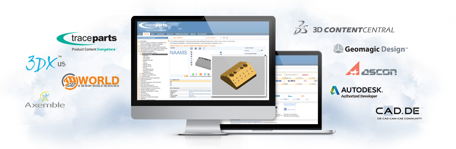 Publish your 3D Online Product catalog onto the TraceParts Publishing Network