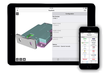 TraceParts Offers Component Suppliers A Dedicated Mobile Application To Promote Their Products In 3D