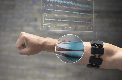 revolutionary gesture control armband called Myo