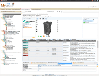 TraceParts releases new version of its Supplier Parts Management system