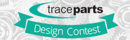 Who is the winner of the TraceParts annual contest 2014 ?