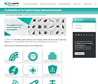 The Newsletter to The TraceParts Design Engineering Community – 96
