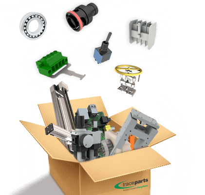 Box of CAD Parts