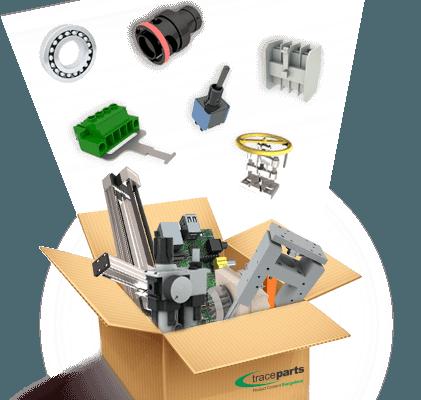 Box of CAD Parts