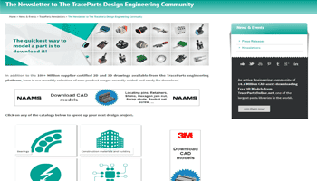 The Newsletter to The TraceParts Design Engineering Community – 97