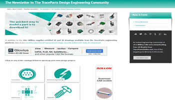 The Newsletter to The TraceParts Design Engineering Community – 98