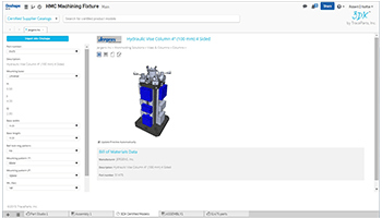 The new TraceParts 3DX Certified Models App for Onshape users