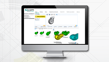 3D geometric similarity search launched on the TraceParts CAD platform
