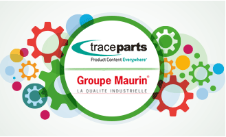 TraceParts celebrates its prosperous eight-year partnership with the MAURIN Group
