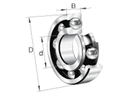 INA/FAG - Radial ball bearing