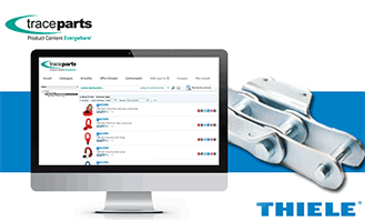 THIELE relies on TraceParts to provide 3D CAD models and technical data to design engineers