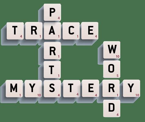 TracePartsMysteryWord