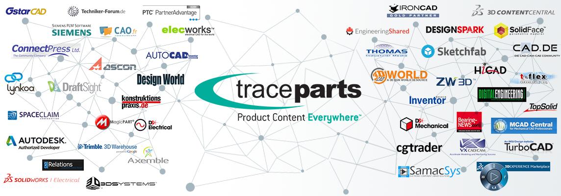 """Publiez votre catalogue produits sur le réseau """"TraceParts Publishing Network"""""""