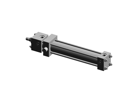 BOSCH REXROTH - Single rod hydraulic cylinder