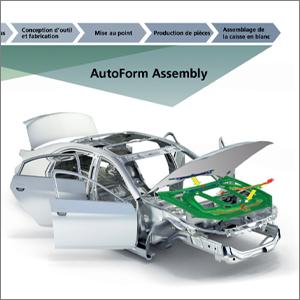 AutoForm Dévoile sa Solution pour l'Assemblage de la Caisse en Blanc et Etend la Digitalisation du Process de Fabrication