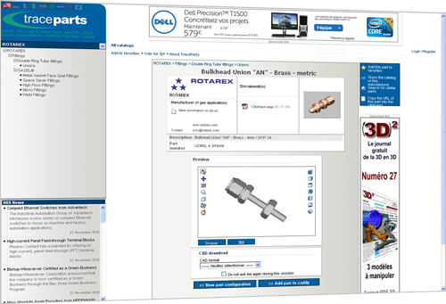 TraceParts launched the official user registration countdown of its flagship online part library www.tracepartsonline.net