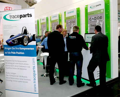 Join TraceParts at the Hannover Fair