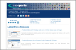 Corporate newsletter october 2012: Latest Press Releases, e-Marketing Services, The TraceParts Team