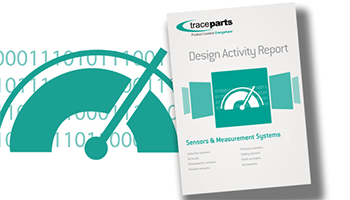 TraceParts publishes its annual report on the use of sensors and measurement systems in design projects
