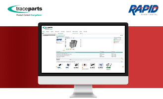3D CAD models from RAPID are now available on the TraceParts platform
